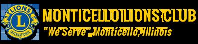 Monticello Lions Club Logo